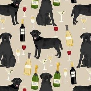 black lab wine labrador retriever dog fabric tan