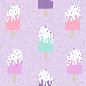 popsicle summer food purple