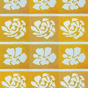 Golden Stencil Block