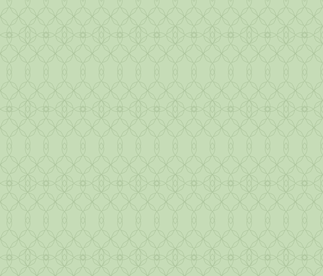 Filigree Lace: Dusty Green Tracery fabric by dept_6 on Spoonflower - custom fabric