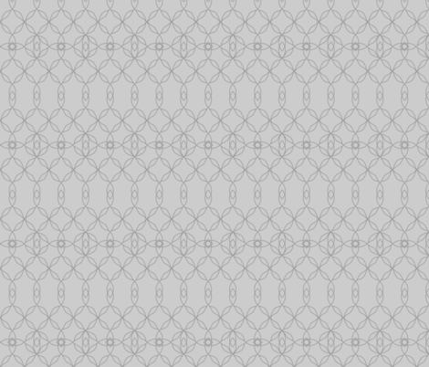 Filigree Lace: Pure Gray Tracery fabric by dept_6 on Spoonflower - custom fabric