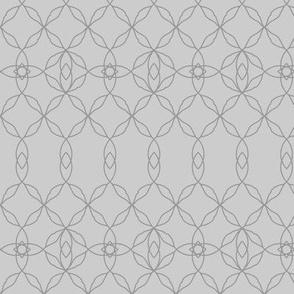 Filigree Lace: Pure Gray Tracery