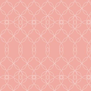 Filigree Lace: Rose Gold Tracery