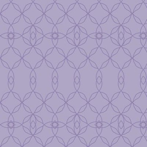 Filigree Lace: Violet Purple Tracery