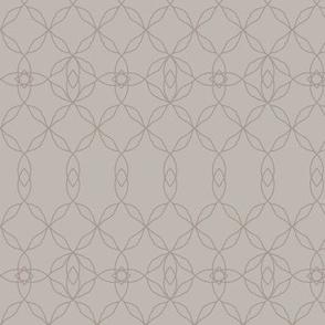 Filigree Lace: Warm Gray