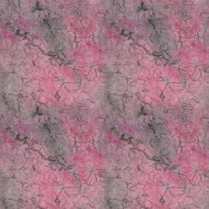 Marbled Rose and Gray