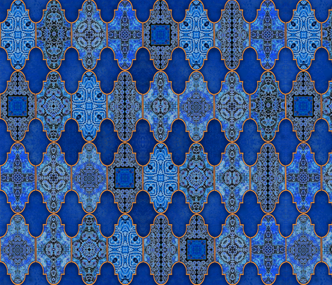 Marrakesh2 fabric by snarets on Spoonflower - custom fabric