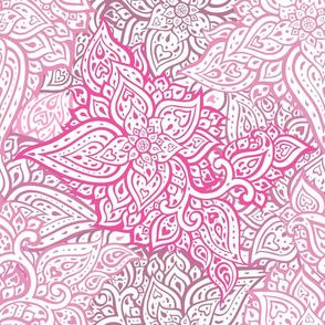 Paisley. Hand Drawn ornament