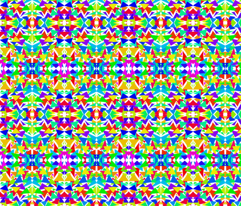 Triangle Jangle fabric by rhondadesigns on Spoonflower - custom fabric