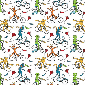 Biking Monster Club