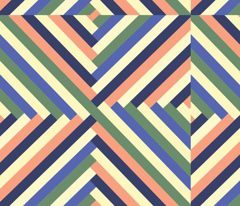 Maypole in Preppy fabric by saflo_creations on Spoonflower - custom fabric
