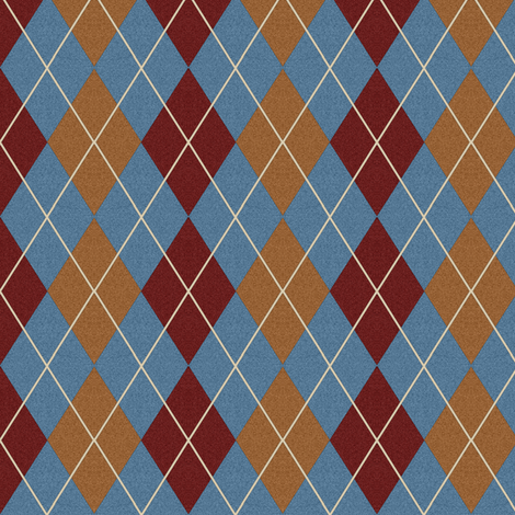 Custom Fuzzy Argyle 1 fabric by eclectic_house on Spoonflower - custom fabric