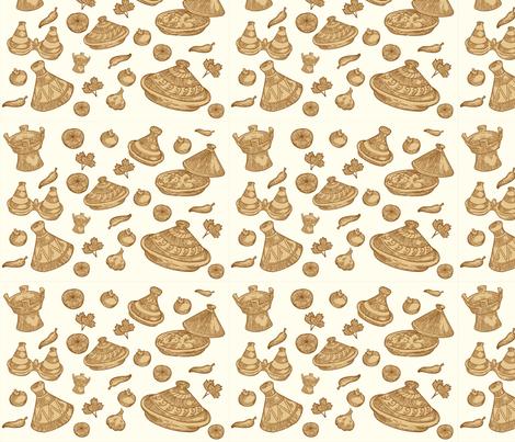 Tajine fabric by la_panim on Spoonflower - custom fabric