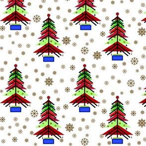 Bauhaus Christmas tree.