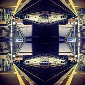 Fukuoka Train Platform