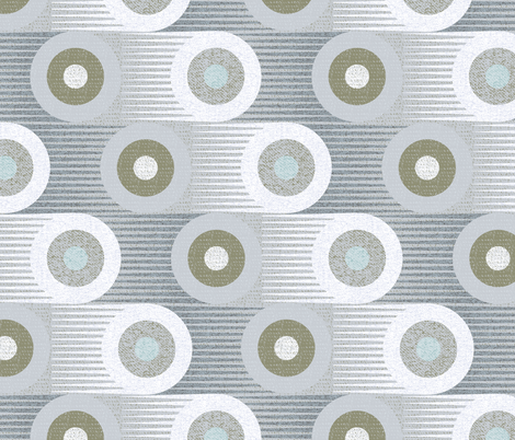 Moving too fast-retro 60s 70s fabric by ottomanbrim on Spoonflower - custom fabric