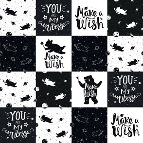 make a wish cheater quilt