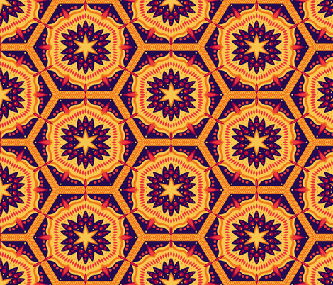 Moroccan Spice fabric by robyriker on Spoonflower - custom fabric