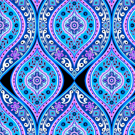 Tile Series 3 3 fabric by jadegordon on Spoonflower - custom fabric