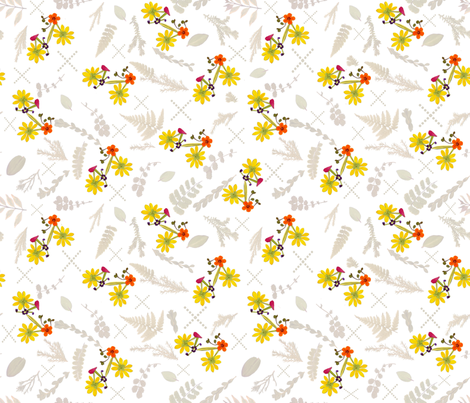 Petal Bikes fabric by mypetalpress on Spoonflower - custom fabric