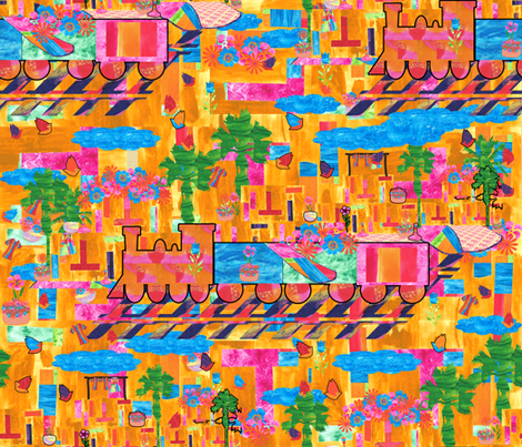 Marrakesh Express fabric by anniedeb on Spoonflower - custom fabric