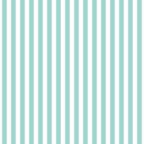 Stripes Vertical  Aqua
