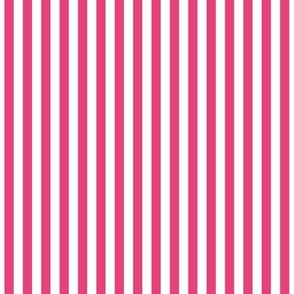 Stripes Vertical Bright Pink