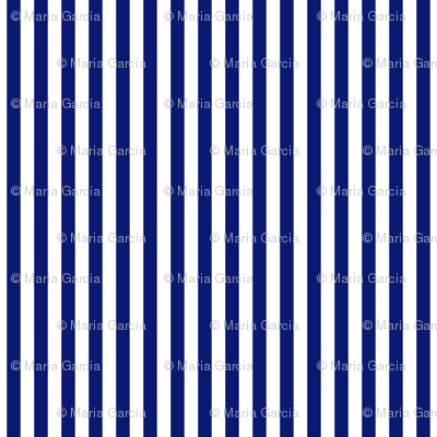 Stripes Vertical Deep Blue