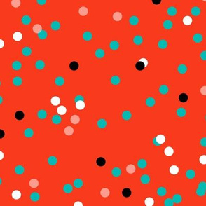 Fun-Fetti - Polka Dot Red