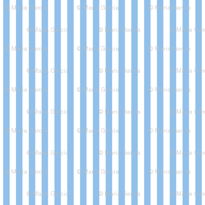 Stripes Vertical Light Blue