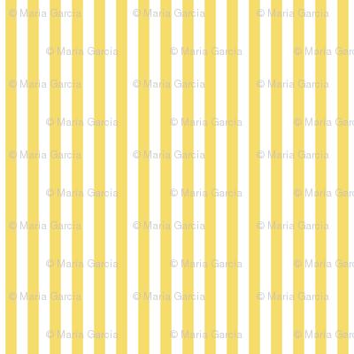 Stripes Vertical Light Yellow