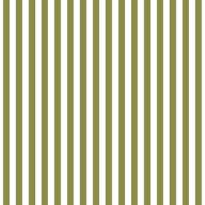 Stripes Vertical Olive Green