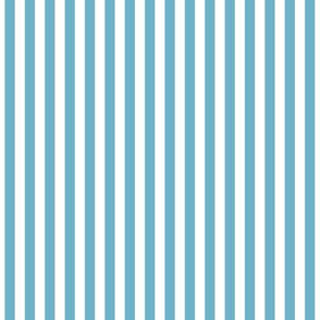 Stripes Vertical Sky Blue