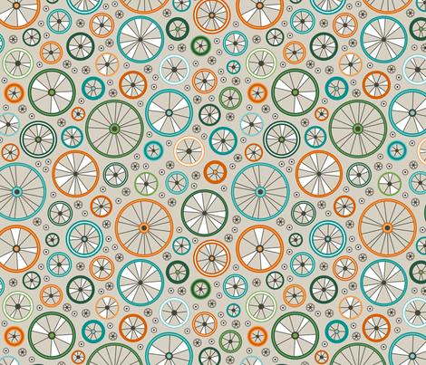 Wheelies (Off Road) fabric by brendazapotosky on Spoonflower - custom fabric