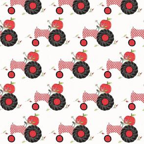 Checkerboard Tractor