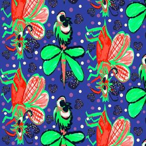 Monster bugs in flight