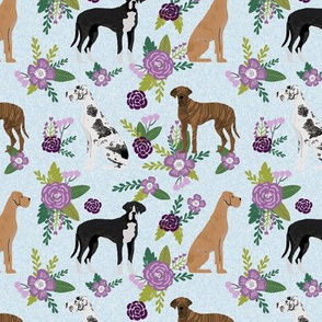 great dane mixed coats pet quilt c collection coordinate floral