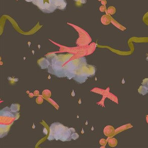 Birds and Ribbons