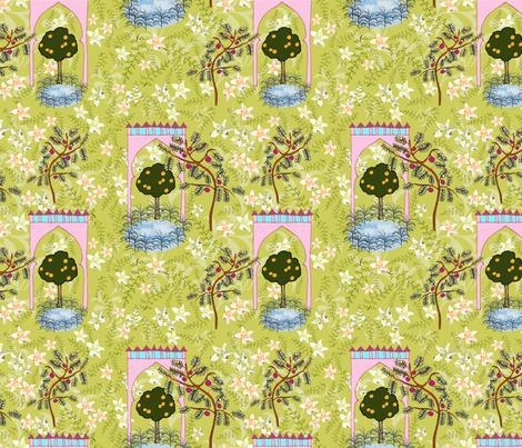 Sevilla, by Susanne Mason fabric by susanne_mason_ on Spoonflower - custom fabric