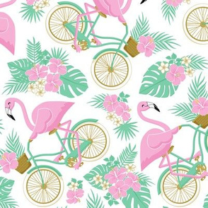 Tropical Bike: Bg White