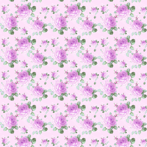 Bluma clover custom20Reduction fabric by lilyoake on Spoonflower - custom fabric