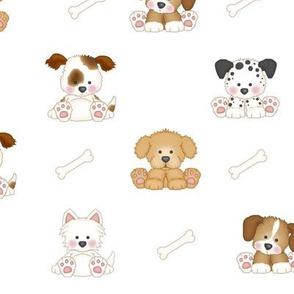 Puppy Dog Bones Dalmatian Westie