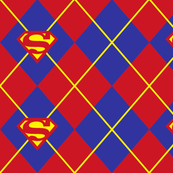 Superman Argyle