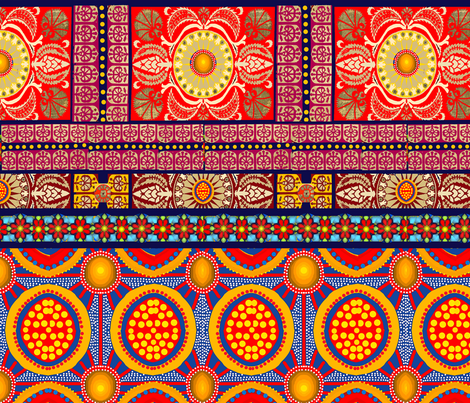 Moroccan Modern fabric by lbehrendtdesigns on Spoonflower - custom fabric