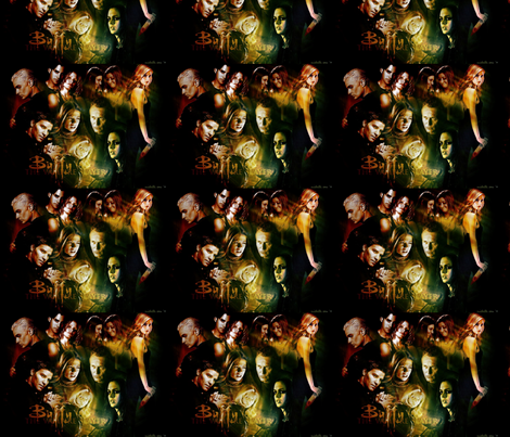 Buffy fabric by blackrose37 on Spoonflower - custom fabric
