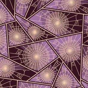 Vintage Matchbox Spiderweb - Violet