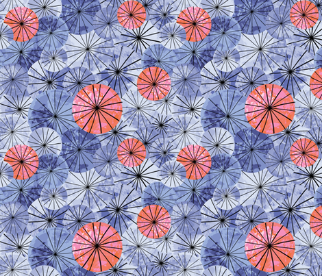 cycling fabric by vivdesign on Spoonflower - custom fabric