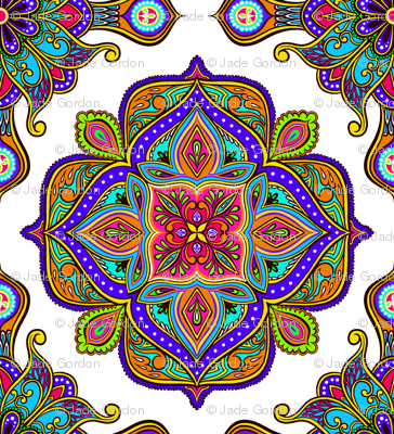 Colorful Tile 100