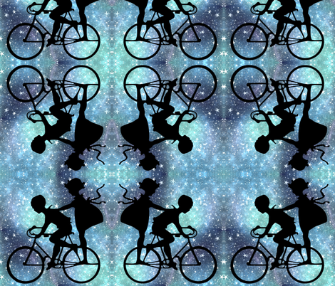 starry ride fabric by ae_fresia on Spoonflower - custom fabric