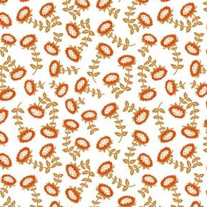 sunflowers // mustard-orange // little matryoshka collection